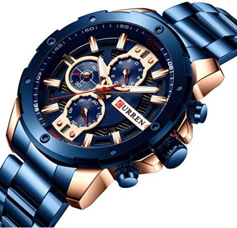 Relojes Curren Azules